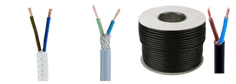 huadong low price 2 core shielded cable for sale
