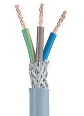 3 core shielded cable structure