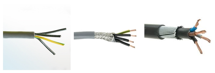 Low Price 4 Core Shielded Cable for Sale