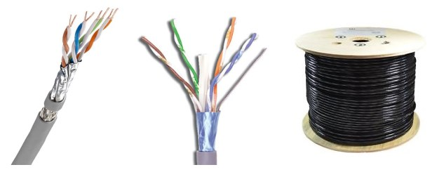 low price foil shield cable with package
