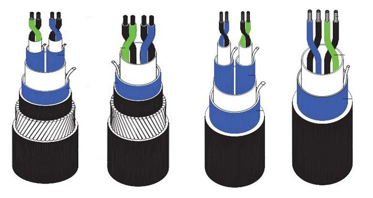 all type of low price industrial instrument cable
