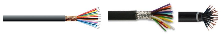 customized multicore shield cable with great insulation
